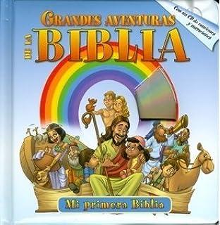 GRANDES AVENTURAS DE LA BIBLIA con un CD- Historia de la Biblia Libros para niños