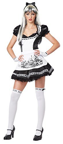 [Dark Alice Costume Accessory - Teen Large] (Child White Rabbit Costume Alice In Wonderland)