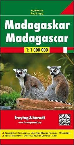 Carte Tomtom Madagascar.Madagascar F B R Scale 1 1m Wegenkaart 1 800 000