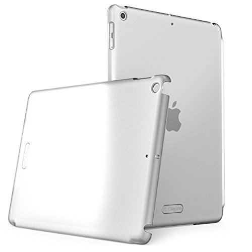 New iPad 9.7 2018/2017 Case, Clayco Clear Back Protector Lightweight Slim Fit for iPad 9.7 Case [Compatible with Offical Apple Smart Covers and Keyboard] (Frost)
