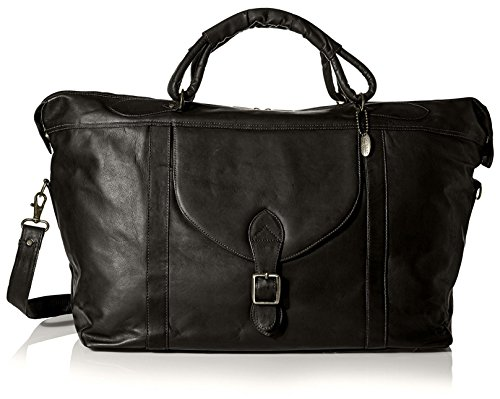 David King Men's Top Zip Travel Bag, Black by David King & Co
