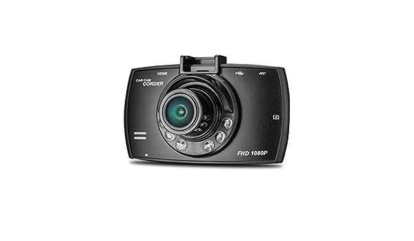 Cebbay Cámara de Doble Lente 1080p 2.7HD cámara HD LCD Grabadora DVR de visión Nocturna Detección de Movimiento Sensor g Visión Nocturna por Infrarrojos: ...