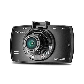 Cebbay Cámara de Doble Lente 1080p 2.7HD cámara HD LCD Grabadora DVR de visión