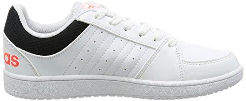 Adidas VS HOOPS K–Sneaker deportivaspara Kinder, Weiß–(Ftwbla/Blau/negbas),-31