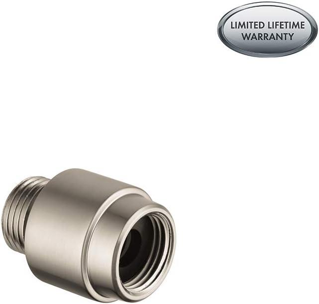 hansgrohe 06510820 External Vacuum Breaker, Brushed Nickel