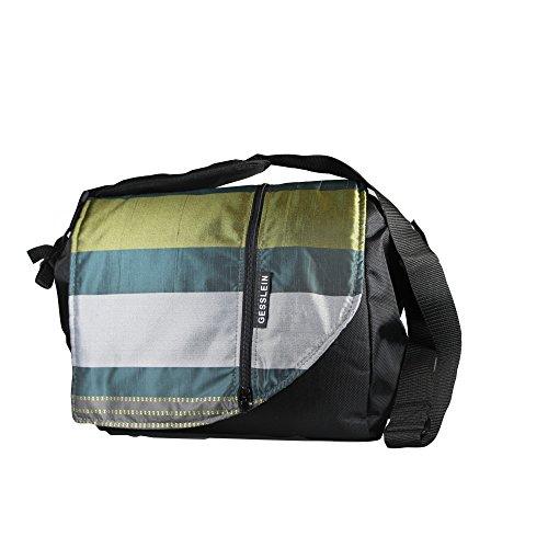 Gesslein, bolsa de pañales, Multicolor (Muster gasolina / plata / oro)