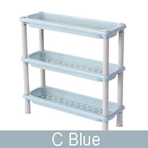 LexBu Small Bathroom Shelves Organizer 3 Layers Storage Bask