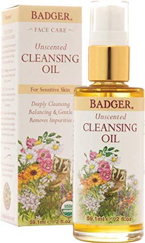 Badger Unscented Cleansing Oil Face Oil Bundle