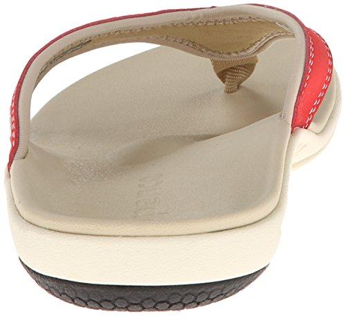 Spenco Yumi Flip Pour Homme Flop Sandale Red True 7U7xvwAFqO