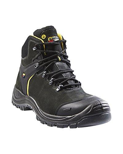 blakläder 231810909997W37Scarpe di sicurezza alta S3SRC Dimensione W37Nero/Grigio scuro
