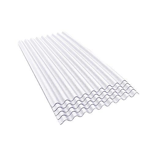 ONDURA 907 Corrugated Asphalt Roofing (5-Pack), White by ONDURA