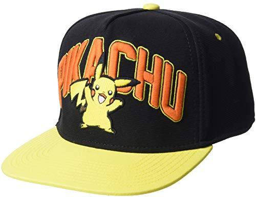 Pokemon Pikachu Design Snapback Cap]()