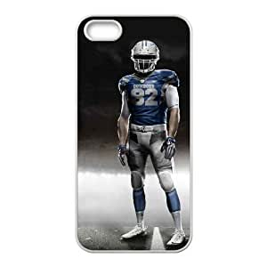 NFL iPhone 5 5s White Cell Phone Case Dallas Cowboys PNXTWKHD0955 NFL Plastic Fashion Phone Case Cover