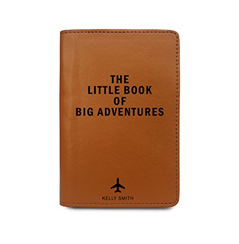 Personalized Leather Passport Cover Wallet - The Little Book Of Big Adventures by With Love From Julie