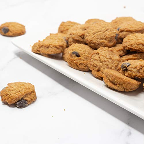 Proudly Pure Mini Bite Size On the Go 3 Pack Keto Cookie Chocolate Chip Snacks - Healthy Low Carb, Diet Friendly, Tasty and Delicious Gluten Free Food Treats Made With Real All Natural Ingredients 8
