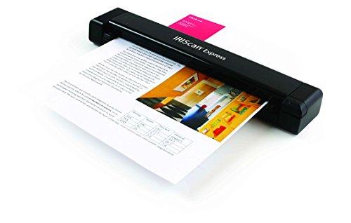 IRIS 458511 can Express Mobile Scanner Black