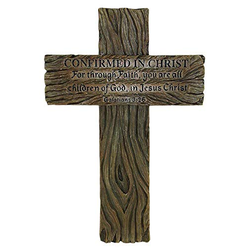 - Decorative Handmade Crucifix Wall Cross Art Plaque: for Through Faith, You are All Children of GOD in Galatians3:26