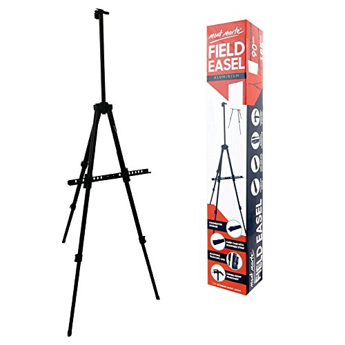(Mont Marte 73 inch Aluminium Field Easel with Carry)