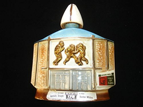 1972 Football Hall of Fame Jim Beam Whiskey Ceramic 10