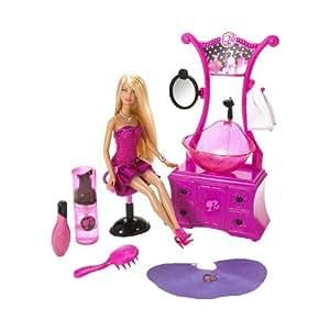 Barbie N6889-0 - Peluquería con muñeca
