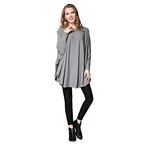 oversized cowl neck pullover - 9