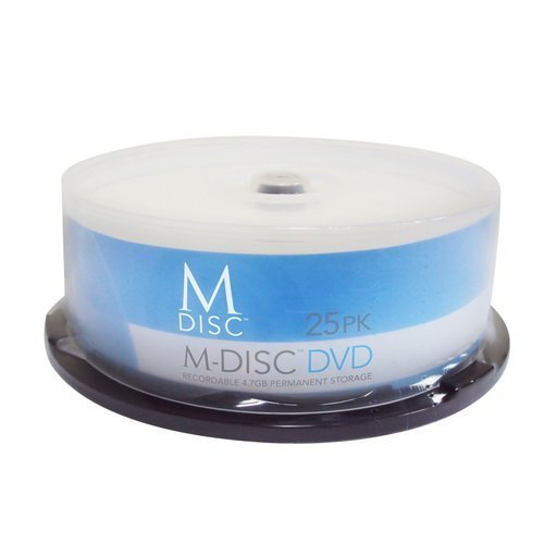 Produplicator M-DISC DVD plus R 4X Cake Box 25 Pack