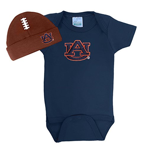 Baby Tigers Auburn Blanket - Future Tailgater Auburn Tigers Baby Onesie and Football Hat Set (Newborn)
