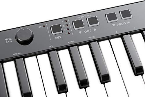 IK Multimedia iRig Keys 37 USB Compact Keyboard MIDI Controller for Mac/PC