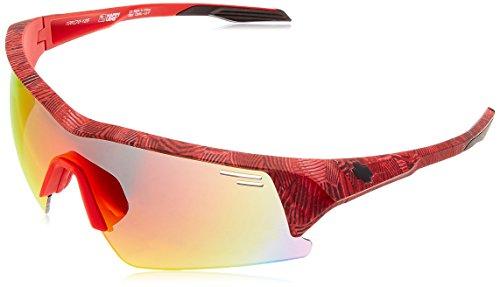 Spy Optics Screw Over Infinite Unisex Sunglasses Red - Happy Gray - Spy Screw Sunglasses