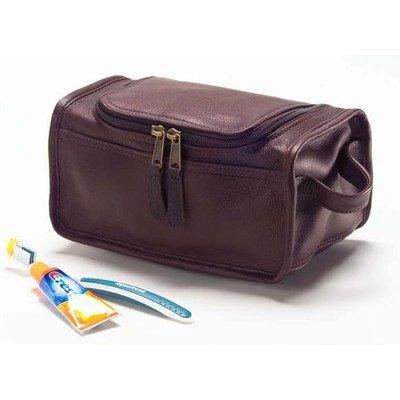 Clava Shaving/Cosmetic Case - Leather - Vachetta Cafe - Vachetta (Case Vachetta Leather)