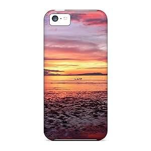 New Hhy3467KqHU Comox Sunrise Tpu Cover Case For Iphone 5c
