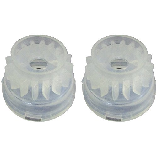 28-9110 (2) Starter Gear for Toro Snowblower S620E S200E CR20E Snowmaster 20 IH ()