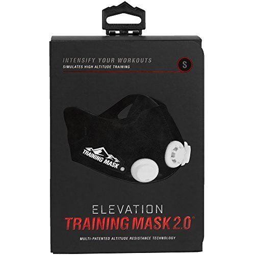 Training Mask 2.0 Elevation Training Mask - Black (S-M)