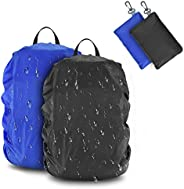 BROTOU 2 Pack Snowproof Backpack Rain Cover 20-40L, Rucksack Waterproof Covers for Hiking, Camping, Traveling,