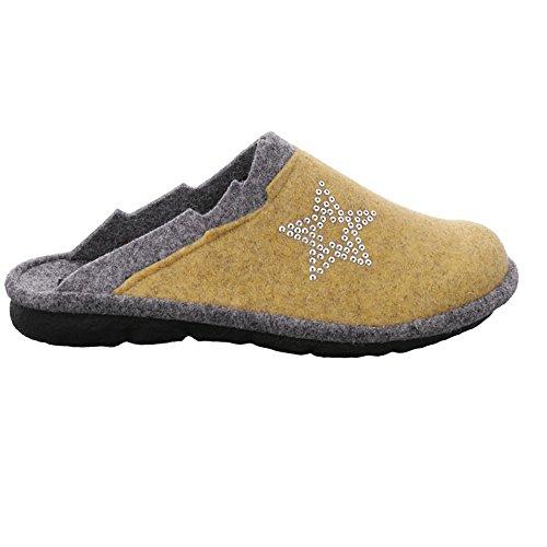 Pantoffeln Damen 801 Mikado 801 Gelb Gelb kombi 107 Romika dt7fqwxP7