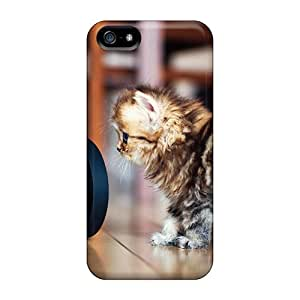 JIC26072eSMd Anti-scratch Cases Covers JessyLoisel Protective Cat Camera Cases For Iphone 5/5s