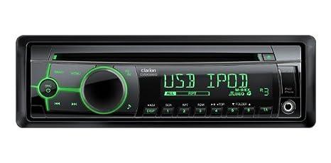 Clarion CZ202E - Sistema estéreo del coche MP3/CD con USB frontal/AUX Input: Amazon.es: Electrónica