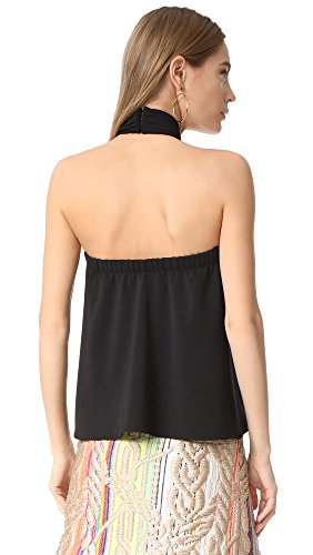 Amanda Uprichard Women's Beckett Top, Black, Small by Amanda Uprichard (Image #2)