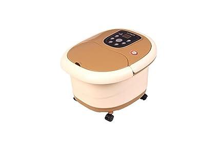 Hidromasaje Para Pies,Baño De Pies Spa Con Calentador De Agua (4 Rodillos De