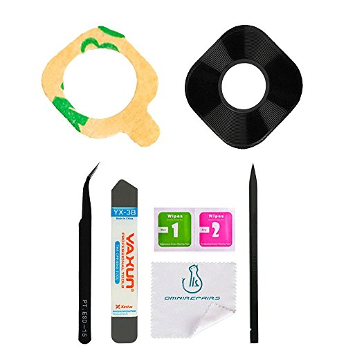 OmniRepairs Rear Facing Glass Camera Lens Replacement For OnePlus Phone with Pre-cut Adhesive and Repair Toolkit (OnePlus 3) by Omnirepairs