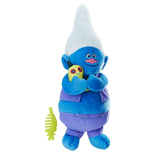DreamWorks Trolls Biggie Talkin' Troll Plush Doll