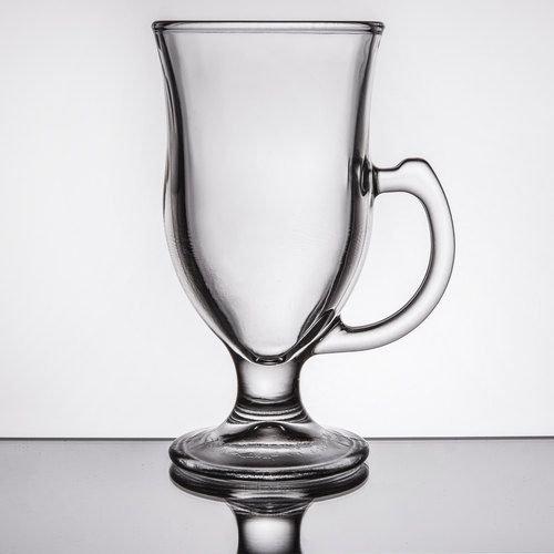 Creative Gifts International 003832 8 oz Glass Irish Coffee Mugs - 6 in.44; Case of 12 by Creative Gifts International (Image #1)