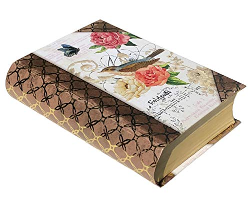 Punch Studio Painted Bird Gold Foil Petite Book Box (66775)