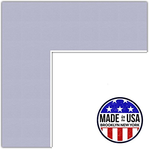 20x24 Lilac / Lavender Mist Custom Mat for Picture Frame with 16x20 opening size (Mat Only, Frame NOT Included)