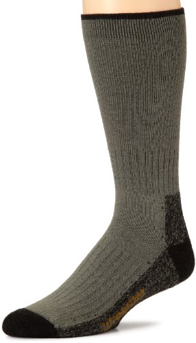 Wigwam Mens Down Range Fusion Sock, Foliage Green, Medium