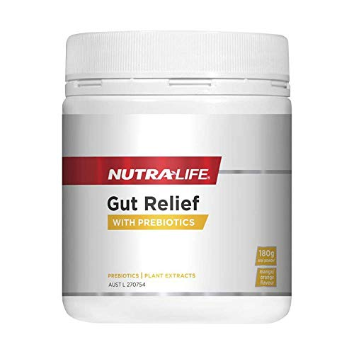 High Potency Gut Relief with Meriva Curcumin, Aloe Vera Juice, Acacia Fiber, Slippery Elm, Artichoke (Inulin) & Marshmallow Root Extracts plus Glutamine, Zinc, Pectin & Quercetin - Made in New Zealand