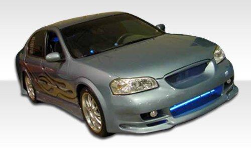 2000-2003 Nissan Maxima Duraflex Kombat Kit- Includes Kombat Front Bumper (100139), Buddy Rear Bumper (100138), and Kombat Sideskirts (100142). - Duraflex Body Kits