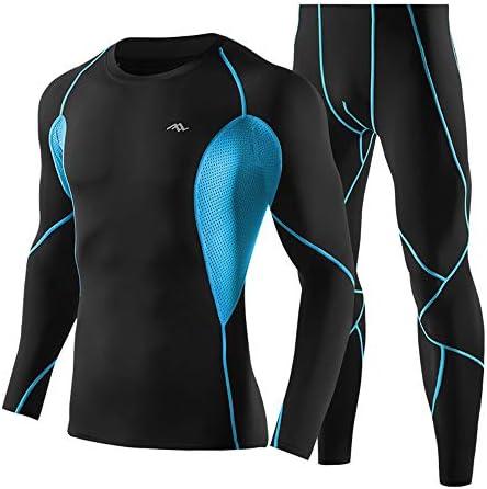 レディースジャージ上下セット 日常の因果スポーツとアウトドア用男性用フィットネスウェアセットスポーツウェア 吸汗 速乾 (Color : Blue, Size : XXL)