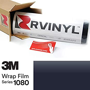3M 1080 M27 Matte Indigo 5ft x 1ft W/Application Card Vinyl Vehicle Car Wrap Film Sheet Roll