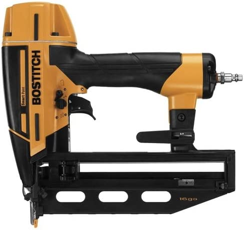BOSTITCH Finish Nailer Kit, 16GA, Smart Point BTFP71917